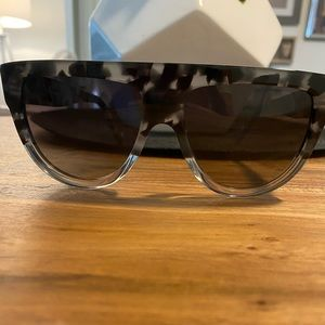 Authentic NEW Rare Celine Grey tortoise glasses